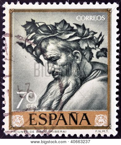 SPAIN - CIRCA 1963: A stamp printed in Spain shows