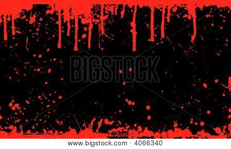 Blood Splat Background