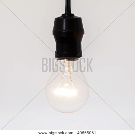 A Light Bulb Hung From Top