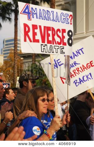 Prop 8 Protest