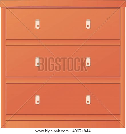 Light colored Chest Of Drawers.eps