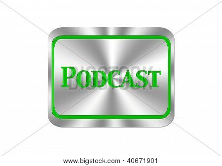 Podcast Button.