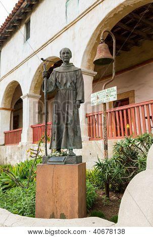 Father Junipero Serra Statue Santa Barbara Mission