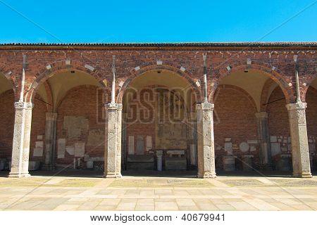 Sant Ambrogio church, Milan