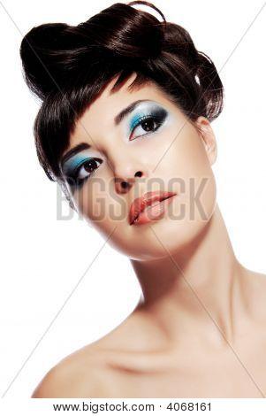 Stylish Image Of Creativity Make-Up