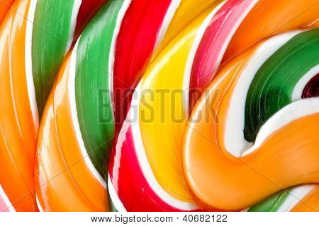 Big Colorful Lollipop