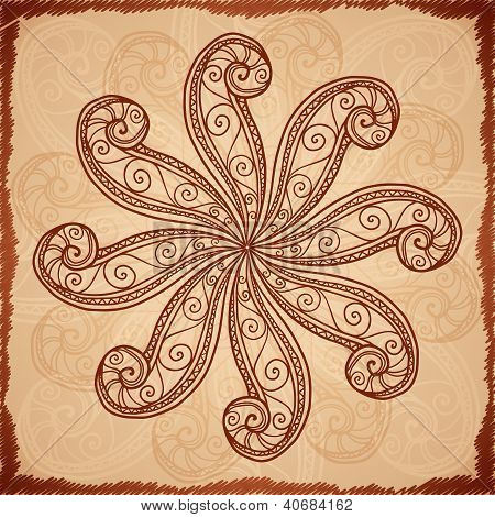 Vintage beige abstract background