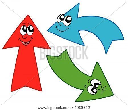Three Cute Arrows