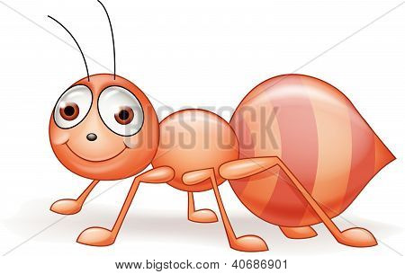 Funny ant cartoon