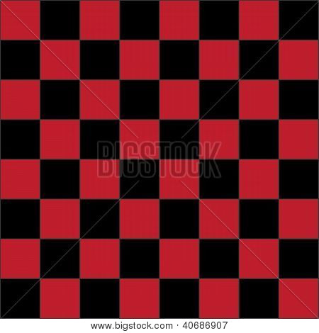 Red Checkered Board