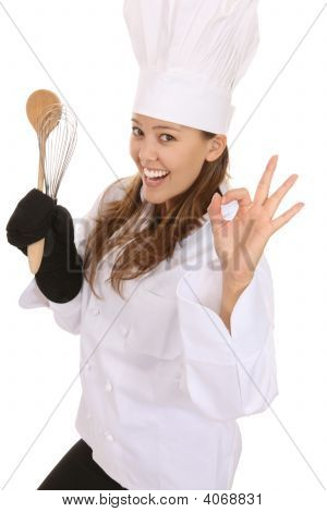 Woman Chef Success