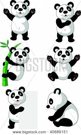 Panda cartoon