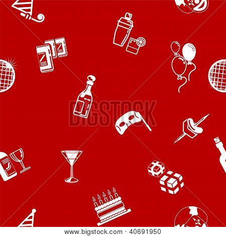Seamless Party Background Texture