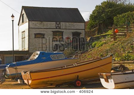 Boats & Old Boatshed