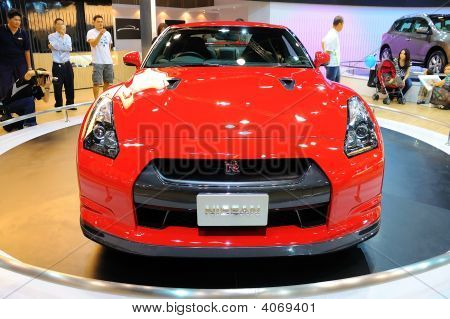 Nissan Gtr On Display