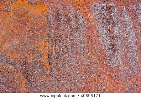 Rusty Metal Background Texture