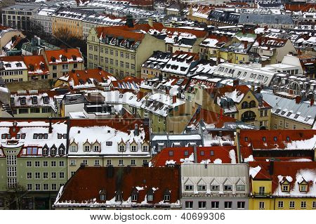 View over Munich, Germany