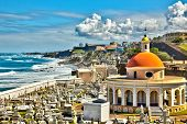 pic of mortuary  - Cemetery with an ocean view in Old San Juan - JPG