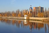 picture of vinnitsa  - Town Vinnitsa in the autumn in Ukraine - JPG