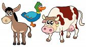Farm Animals Collection 3 poster
