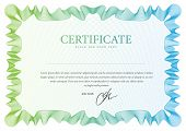 foto of certificate  - Vector pattern that is used in certificate - JPG