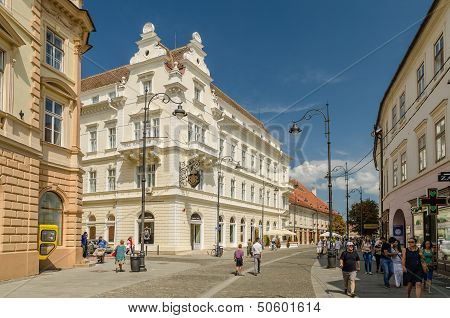 Sibiu City Downtown