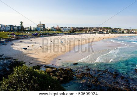 Bondi Beach During Summer