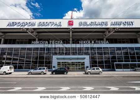Nikola Tesla Airport, Belgrade, Serbia