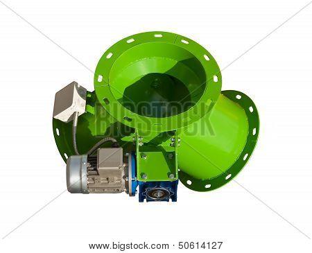 Forced ventilation unit