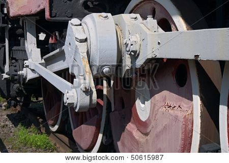 Old Wheel Tank Engine