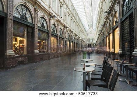 Saint Hubert Royal Galleries In Brussels