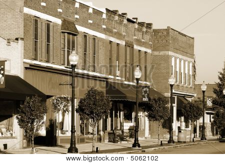 Small Town Businesses, Vintage Era
