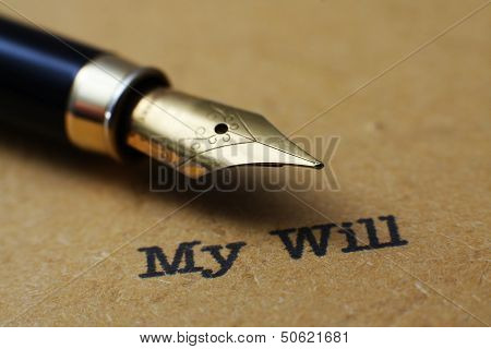 My Will