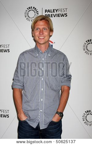 LOS ANGELES - SEP 7:  Phil Klemmer at the PaleyFest Previews:  Fall TV CW -