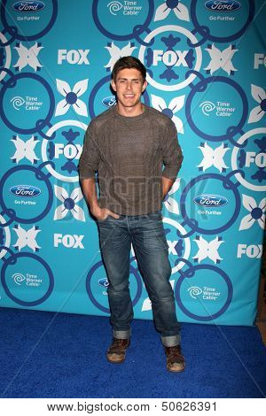 LOS ANGELES - SEP 9:  Chris Lowell at the FOX Fall Eco-Casino Party at The Bungalow on September 9, 2013 in Santa Monica, CA