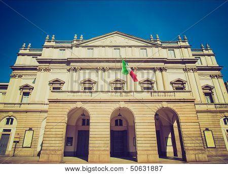 Retro Look Teatro Alla Scala, Milan