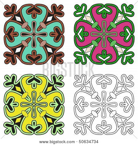 Fountain Tile 4 Variations