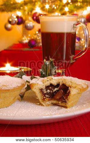 Mince Pie and Irish Coffee