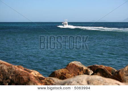 Boat At Sea