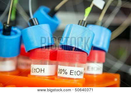 Tubes With Ethanol