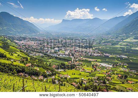 View To Merano South Tirol