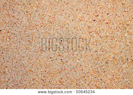 Sandstone texture grain brown light sand wall.