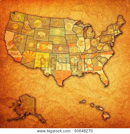 States On Map Of Usa