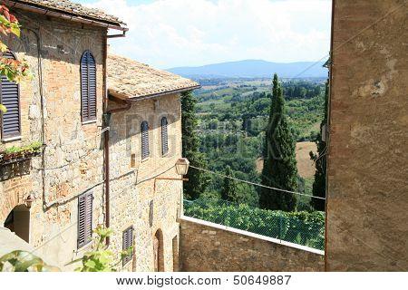 Toscan hills