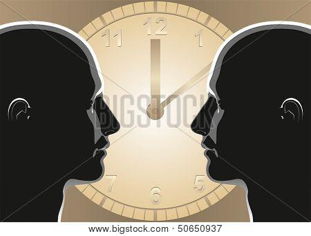 Communication clock