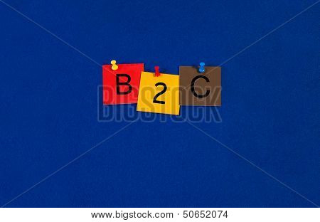 B2C - Business Sign