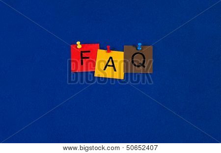 Faq - Business Sign