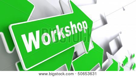 Workshop. Business Concept.