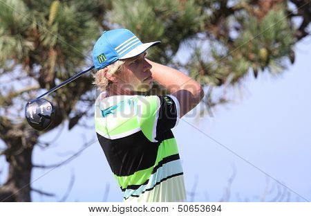 Fabien Marty at the Pleneuf Val Andre golf challenge 2013