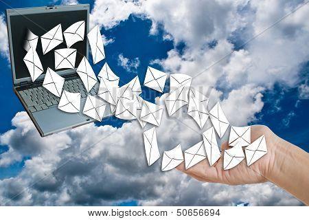 send or receive e-mail.